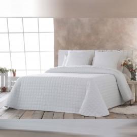 Couvre-lit bouti Izan blanc