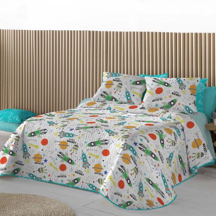 Couvre-lit réversible pour enfants Nestor