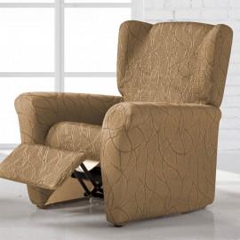 Housse de fauteuil Relax Alexia Beige