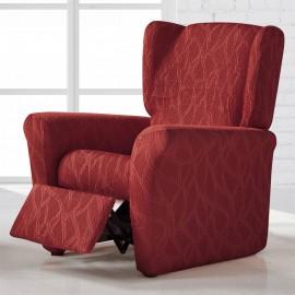 Housse de fauteuil Relax Alexia Rouge