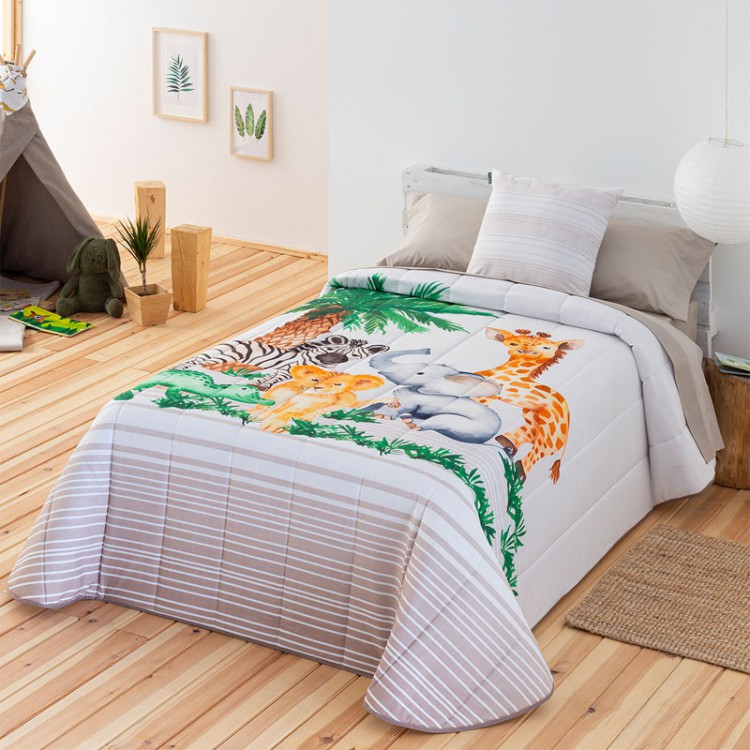 Bedspread Bouti enfant Safari