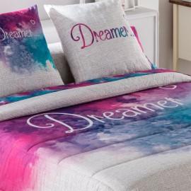 Couvre-lit bouti imprimé Dreamer