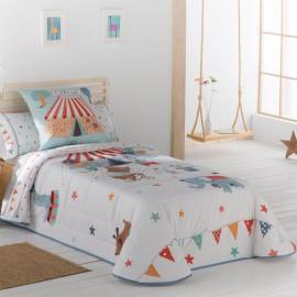Couvre-lit bouti pour enfants Circus