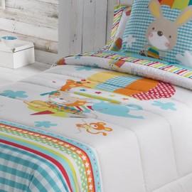 Couvre-lit bouti pour enfants Globus