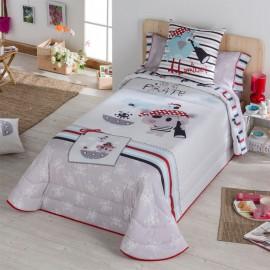 Couvre-lit bouti pour enfants Pirate