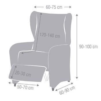 Housse pour fauteuil à oreilles Beta